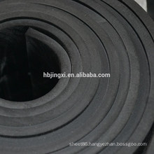 Flame fire resistant CR rubber sheet