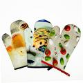 heat resistant gloves kitchen gloves/microwave gloves/grill gloves set