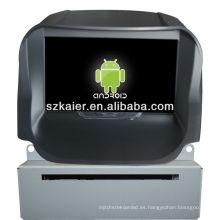 Reproductor de DVD del coche Android System para 2013 FORD Ecosport con GPS, Bluetooth, 3G, iPod, juegos, zona dual, control del volante