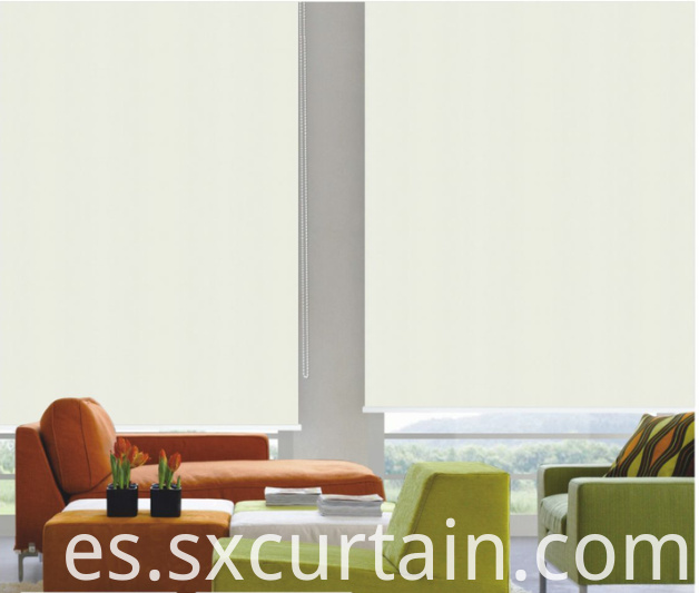 Roller Blind Shade Plain Dyed