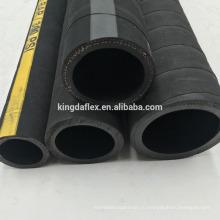 300psi sbr ткань оплетки воды/подачи воздуха 2-дюймовый складной гибкий шланг для воды с крышкой холстины