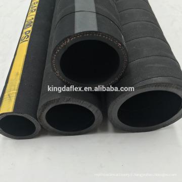 300psi SBR tissu tresse eau / air livraison flexible 2 pouce tuyau d'eau pliable avec toile couverture