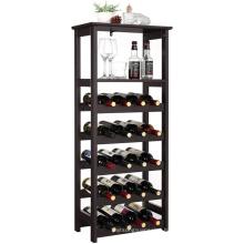 Hot Selling Modern Wood Wine Rack Wine Storage Shelf