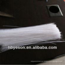 Pp fibra / filamento rizado