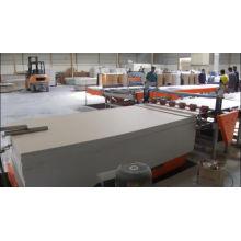 building material machinery gypsum ceiling board lamination machine