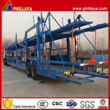 2 Achsen 12 Tonnen Car Carrier Semi Trailer