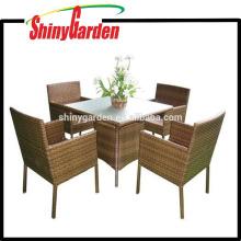 high quality 5pcs rattan dining set