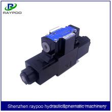 DSG-01-3C5 Electroválvula de 24 voltios para máquina de inyección vertical