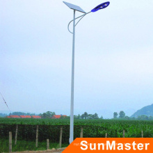 Luces de calle accionadas solares de 100W