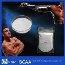 99% Pureté Raw Nutrition Supplement Bcaa pour Bodybuilding Bcaa