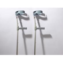 Arm and Leg Adjustable Aluminum Crutches