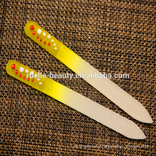 Wholesale crystal transparent and durable glass nail file
