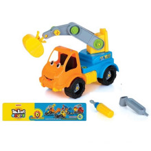 En71 aprobación inteligente Plastci Cartoon DIY coche juguete Mini Toy Car (10225713)