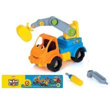 En71 Approval Intelligent Plastci Cartoon DIY Car Toy Mini Toy Car (10225713)