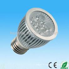 Fabricant de haute qualité de LED 220v 100-240v 5w dmx rgb e27 spot spot 5w