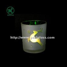 Цветная двойная настенная стеклянная чашка для свечей от SGS, BV (6.5 * 7 * 8)