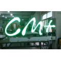 Frente de acrílico de alto acrílico Iluminunce alfabeto muestra LED Letras encendido luz LED caja carta