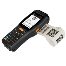Handheld Android Barcode Scanner PDA dengan Printer