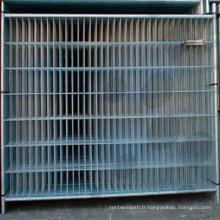 Treillis métallique soudé pour clôture