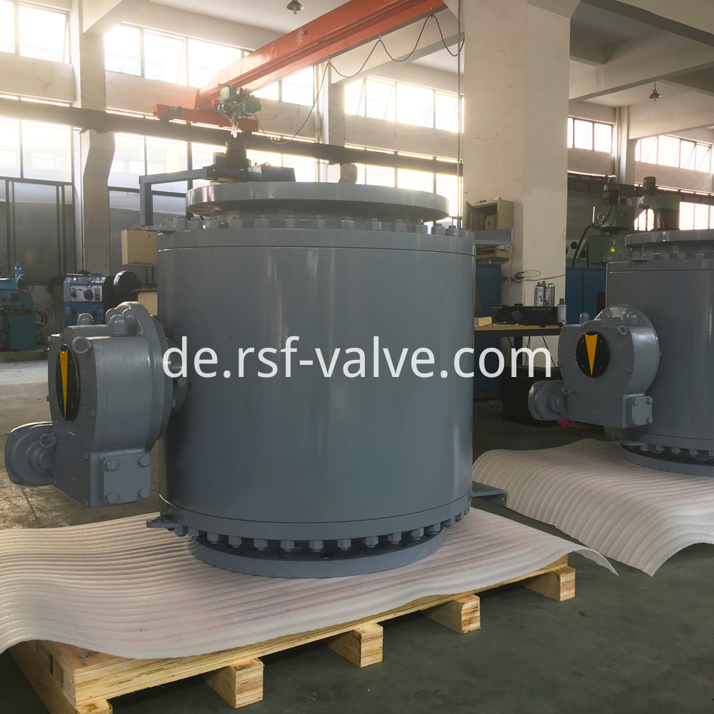 Trunnion Mounted Metal Seat Ball Valve 1
