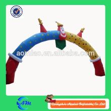Portão inflável do arco do palhaço engraçado para o ar inflável comercial ao ar livre para anunciar