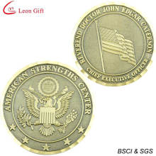 Hot Sale Antique Gold Souvenir Challenge Coin