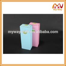 Caixa de embalagem de meias de desenho animado, caixa de embalagem barata por atacado