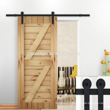 Rustic style timber barn sliding door