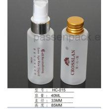 Garrafa plástica 150ml geada do animal de estimação para a embalagem do líquido dos cuidados com a pele