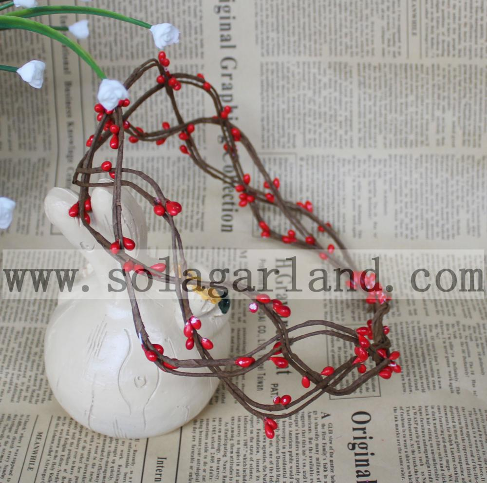 Flower Garland Red