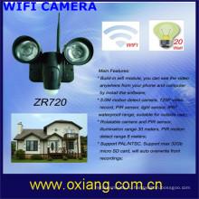 горячий продавать скрытая камера долгое время записи беспроводные видео камеры WiFi / 3G видеокамера бесплатная