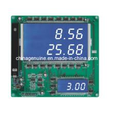 Zcheng 2 In1 Sale Litre Display Board Screen (Blue Background)