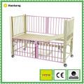 Mobilier d'hôpital pour lit d'enfants en acier inoxydable médical (HK509)