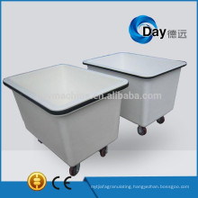 HM-6 fiberglass clean linen trolley with heavy rubbermaid, big sink clothes trolley, STOCK clothes trolley laundry