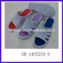 SR-14CE233-5 New Design woman eva slipper Colorful & Beautiful woman EVA slippers Fashion High Heel women slipper