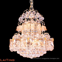Lustre d'or éclairage fantaisie lumière pour la maison