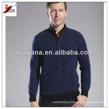 2014 moda homem suéter caxemira