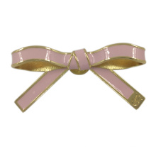 Fashion Ladies Decorative Metal Bowknot Brooches