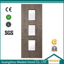 Поставка высококачественных внутренних деревянных шпонированных дверей из МДФ для домов