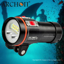 """Professional W43vp 5, 200lm Multifunctional Diving Light with 1"""" Ball Mounting Bracket"""
