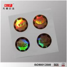 Deep 2D 3D Dot Matrix Hologram Sticker for Perfume
