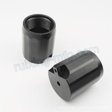 Anodized CNC Machining Aluminum Parts LED Flashlight Parts with Turning Milling