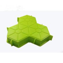 Moule de bloc de béton de forme de ciment de pavage pour le jardin
