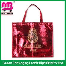 Preço barato mantimento AZO livre folha metálica laminado não tecido sacos de compras