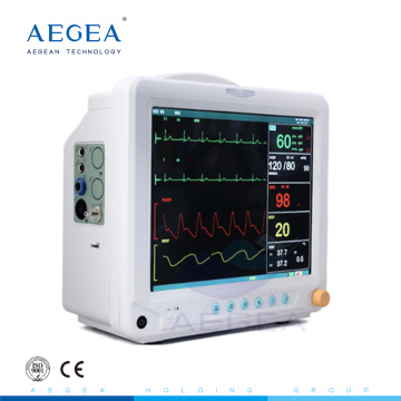 AG-BZ014 Battery heart rate icu cardiac patient hospital heartbeat intensive care room used monitoring equipment monitoring equipment