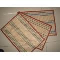 Material de alta qualidade Eco-Friendly Material Placemat tecido de PVC