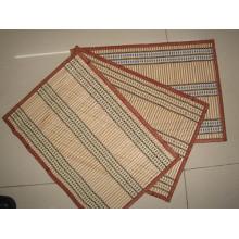 Hochwertiges umweltfreundliches Material PVC gewebtes Tischset