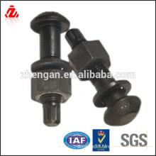 Custom 40Cr steel high tensile track bolt