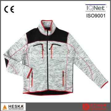 Manga longa roupas Mens velo jaqueta