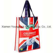 Laminated Non-Woven Small Promotional Giveaway Advertising Tote Bag